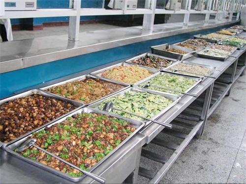 陕西华山烹饪学院食堂条件和宿舍情况